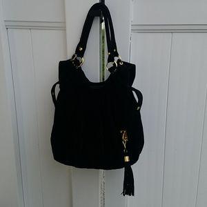 Black Velour bag
